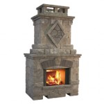 Bristol Fireplace (36in. - wood)