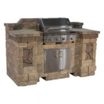 Bristol Grill Island (Includes 36in. AOG Grill & Double Doors)