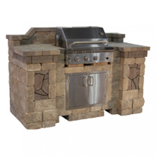 Belgard Elements Bristol Grill Island Includes 36in Aog Grill